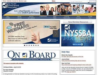 nyssba.org screenshot