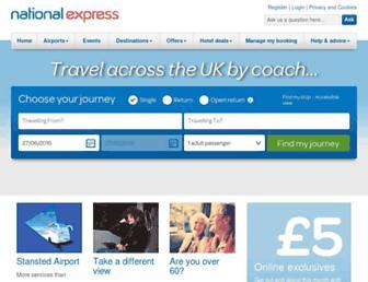 Thumbshot of Nationalexpress.com