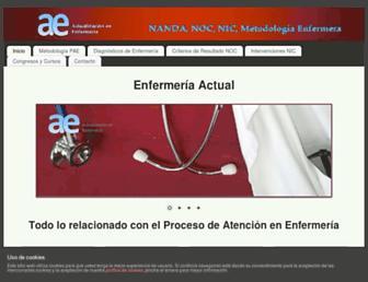enfermeriaactual.com screenshot