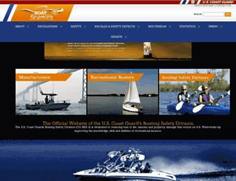 uscgboating.org screenshot