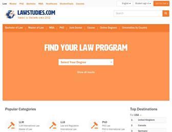 lawstudies.com screenshot