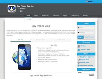 spy-phone-app.com screenshot