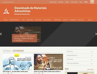 downloads.adventistas.org screenshot