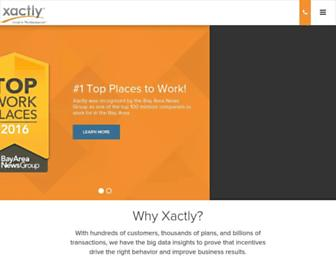 Thumbshot of Xactlycorp.com