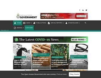 openaccessgovernment.org screenshot