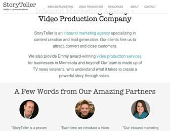 storytellermn.com screenshot