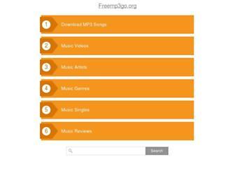 freemp3go.org screenshot