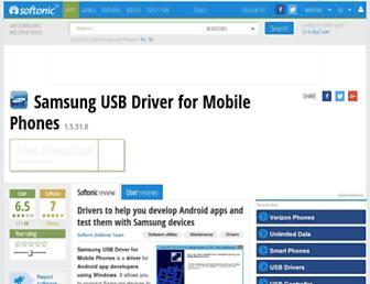 samsung-usb-driver-for-mobile-phones.en.softonic.com screenshot