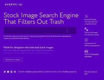 everypixel.com screenshot