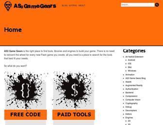 as3gamegears.com screenshot