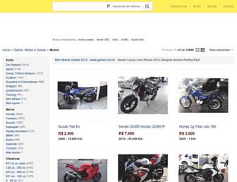 motos.mercadolivre.com.br screenshot