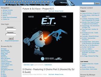 Thumbshot of Mixtapetorrent.com
