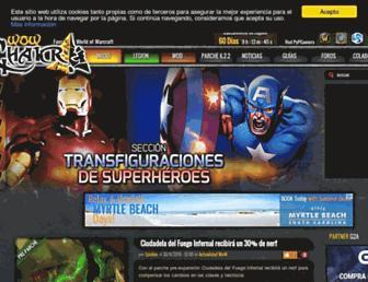 wowchakra.com screenshot