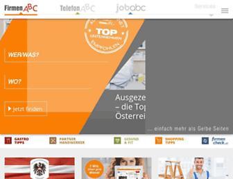 firmenabc.at screenshot
