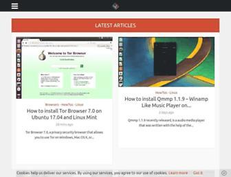linuxhint.com screenshot