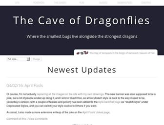 dragonflycave.com screenshot