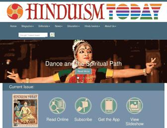 Thumbshot of Hinduismtoday.com