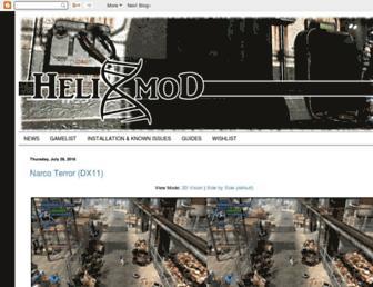helixmod.blogspot.com screenshot