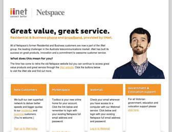 Thumbshot of Netspace.net.au