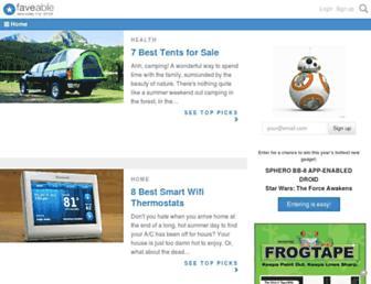 Thumbshot of Faveable.com