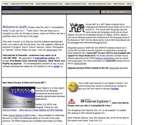 grafxsoft.com screenshot
