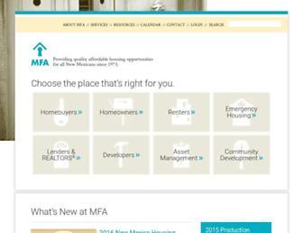 housingnm.org screenshot