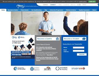 nccedu.com screenshot
