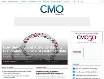 cmo.com.au screenshot