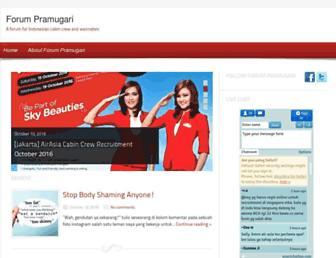 forumpramugari.com screenshot
