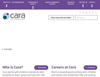 cara.org.au screenshot