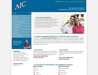agencyinsurancecompany.com screenshot