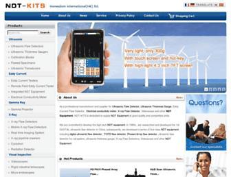 ndt-kits.com screenshot