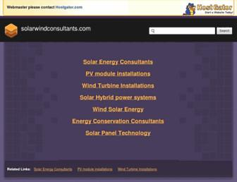solarwindconsultants.com screenshot