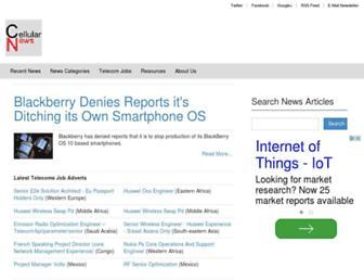 Thumbshot of Cellular-news.com