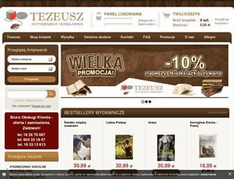 tezeusz.pl screenshot