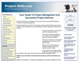 project-skills.com screenshot