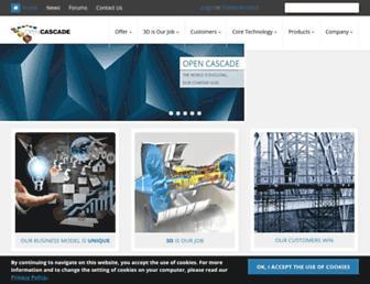 opencascade.com screenshot