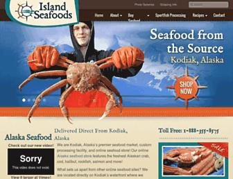 islandseafoods.com screenshot