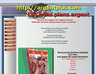 argentplus.com screenshot
