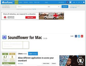 soundflower.en.softonic.com screenshot