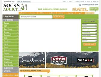 Thumbshot of Socksaddict.com