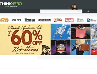 Thumbshot of Thinkgeek.com