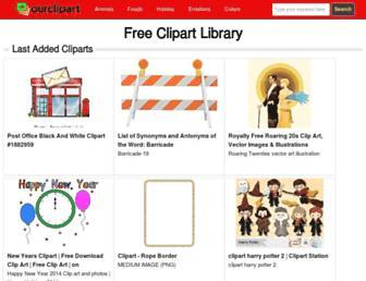 ourclipart.com screenshot