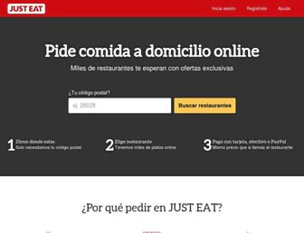 Thumbshot of Just-eat.es