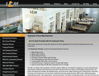 hydraulic-press-lienchieh.com screenshot