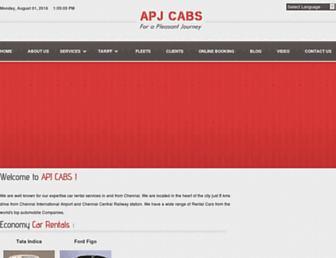 apjcabs.com screenshot