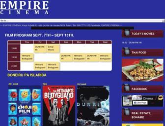 empirebonaire.com screenshot