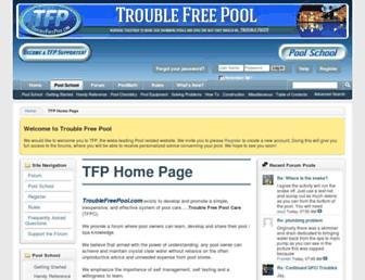 Thumbshot of Troublefreepool.com