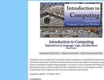 computingbook.org screenshot