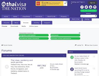 forum.thaivisa.com screenshot